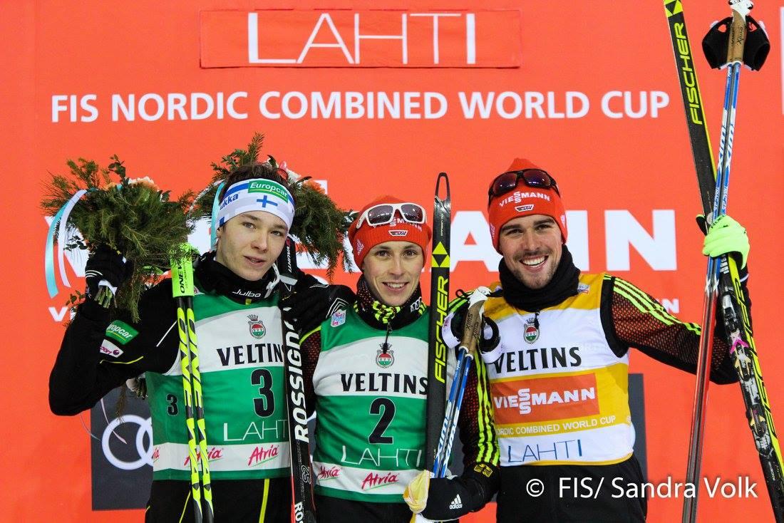 Podium Lahti EC 7.1.2017